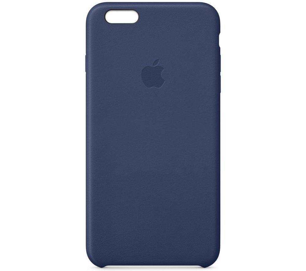 APPLE Leather iPhone 6 Plus Case - Blue