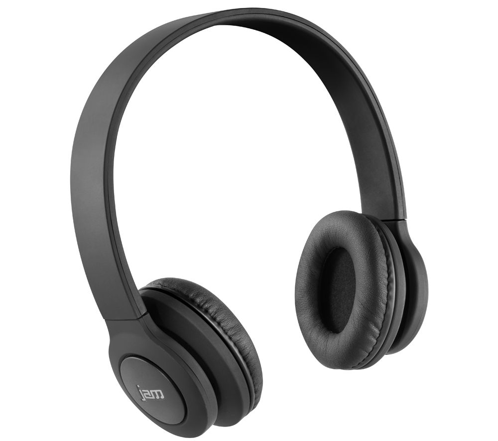 JAM Transit HX-HP420BK-EU Wireless Bluetooth Headphones - Black