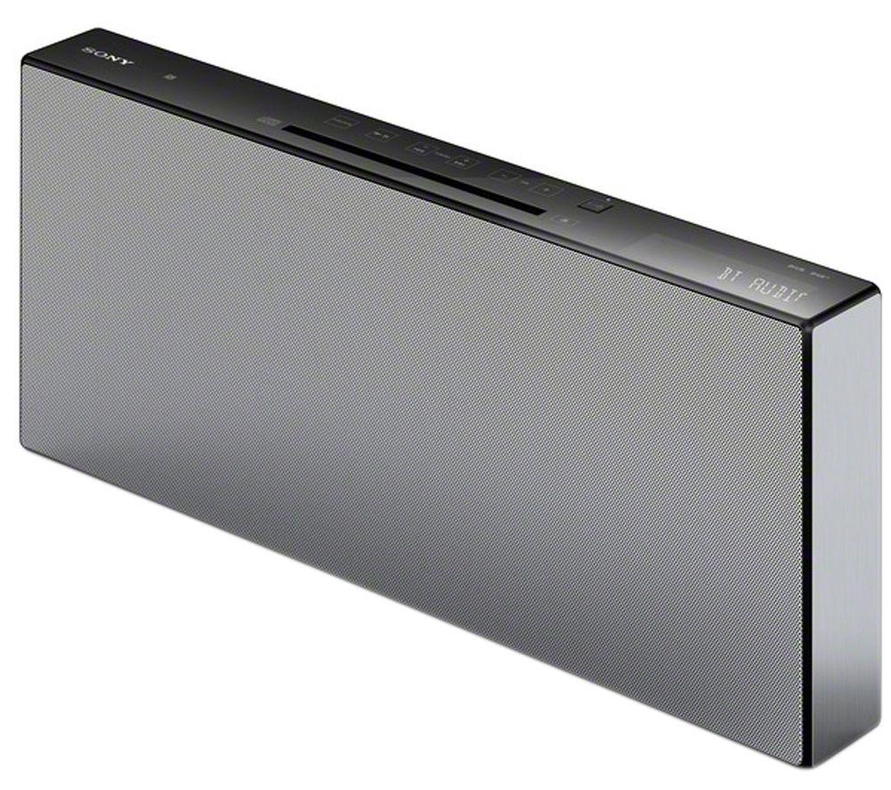 Sony CMTX5CDBW.CEK Wireless Flat Panel HiFi System  USB ConnectorCMTX5CDBW.CEK Wireless Flat Panel HiFi System  USB Connector Black