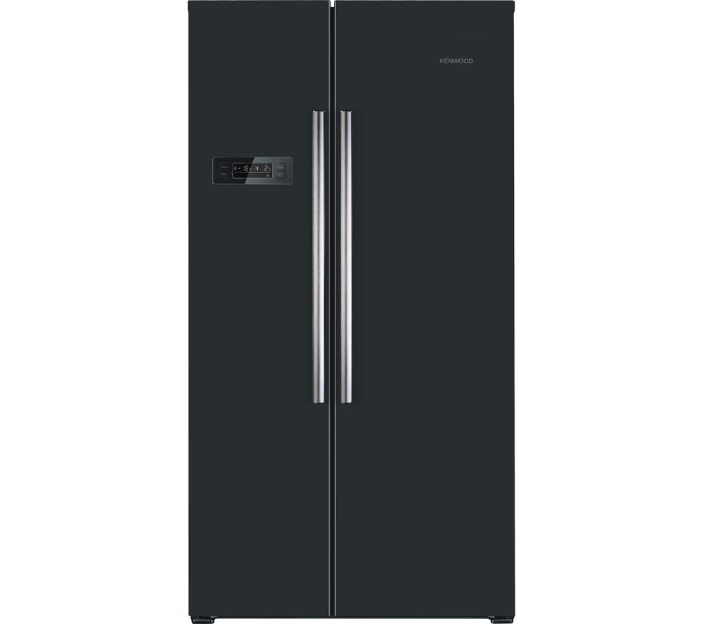 KENWOOD KSBSB15 American-Style Fridge Freezer - Black