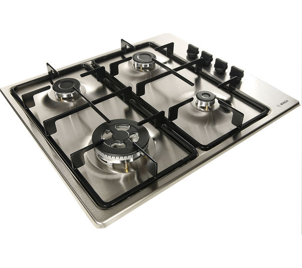 Kitchen Hobs And Chimneys ~ Buy bosch pbh b gas hob stainless steel dww w