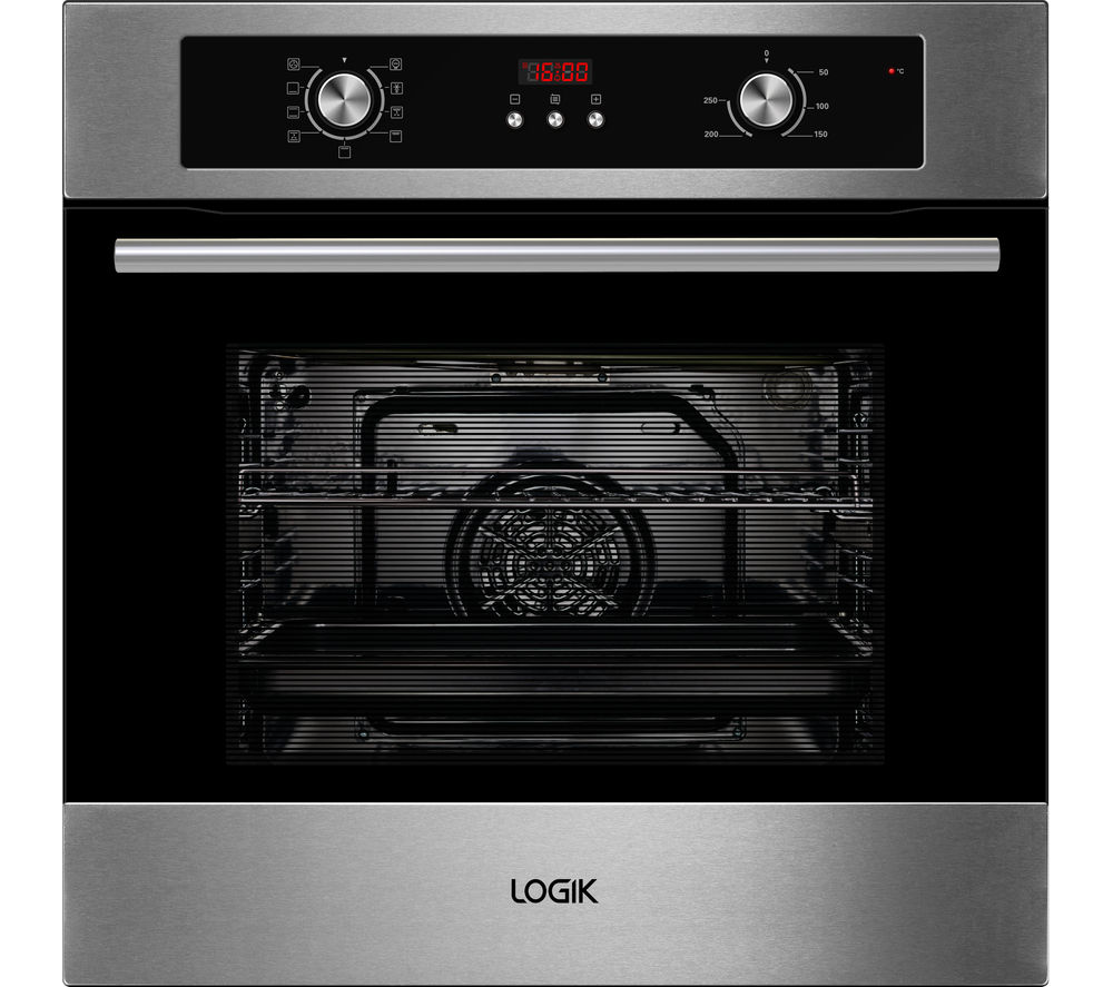LOGIK LBMFMX15 Electric Oven - Stainless Steel