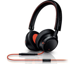 PHILIPS Fidelio M1MKII Headphones - Black & Orange