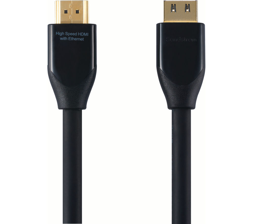 SANDSTROM Level 1 HDMI Cable with Ethernet  3 m