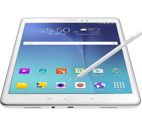 sm p550nzwabtu samsung galaxy tab a 9 7 tablet s pen. Black Bedroom Furniture Sets. Home Design Ideas