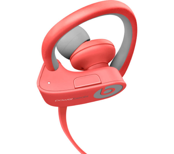 Image of BEATS BY DR DRE Powerbeats² Wireless Bluetooth Headphones - Pink