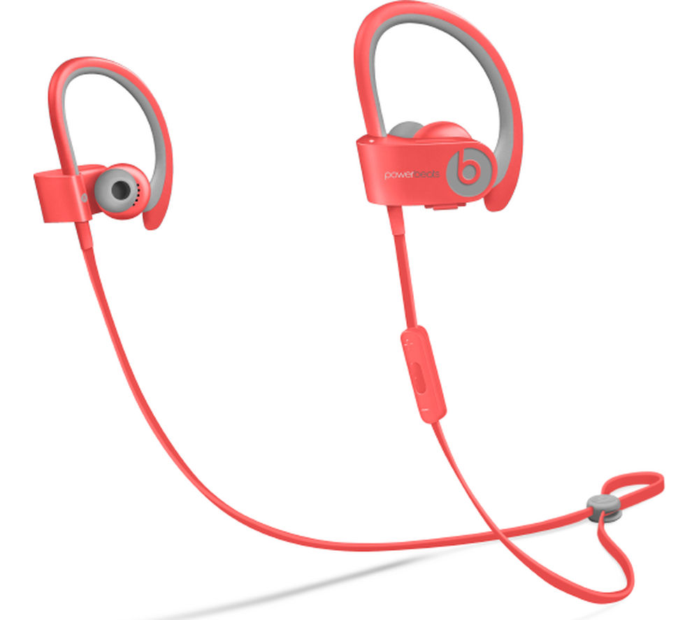 BEATS BY DR DRE Powerbeats² Wireless Bluetooth Headphones - Pink