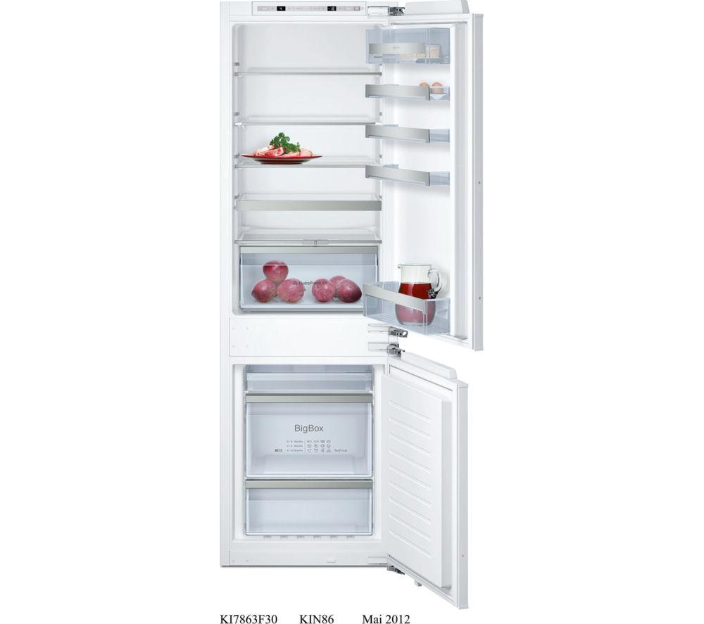 buy siemens ki86nvf30g integrated fridge freezer free. Black Bedroom Furniture Sets. Home Design Ideas