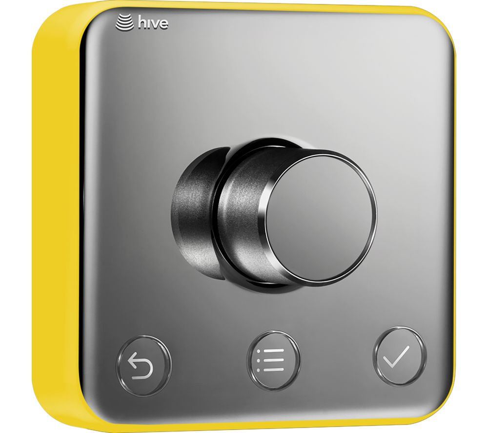 Image of HIVE Active Thermostat Frame Cover - Lemon Punch