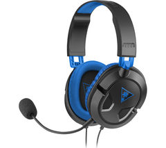 TURTLEBEACH Ear Force Recon 60P Gaming Headset - Black & Blue
