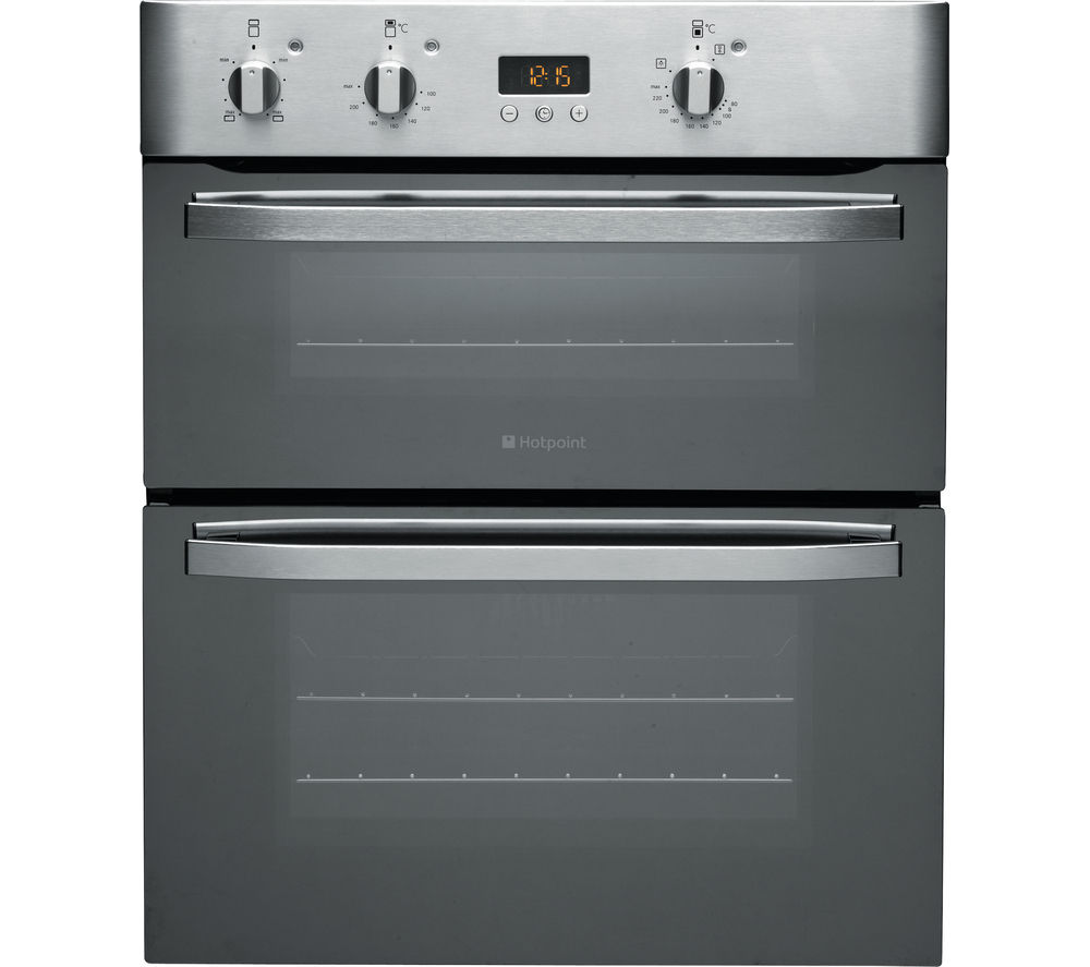 Double Ovens Electric ~ Buy hotpoint uhs xs electric built under double oven