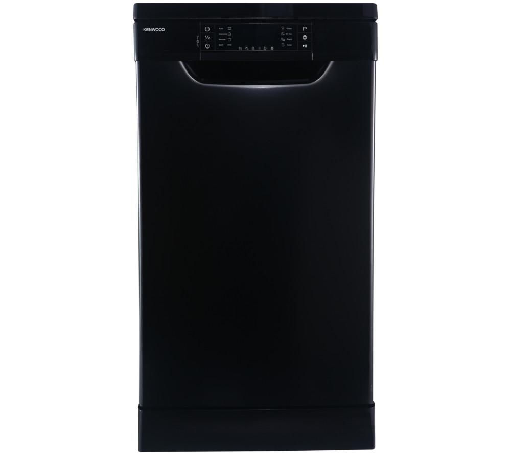 KENWOOD  KDW45B16 Slimline Dishwasher  Black Black