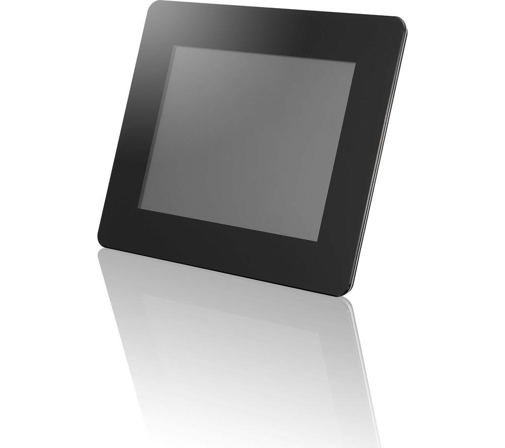 "LOGIK L08DPF13 8"" Digital Photo Frame - Black"