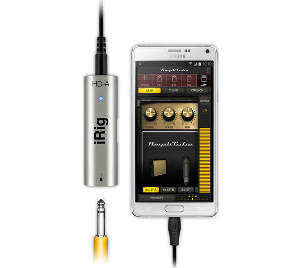 buy irig hd a digital guitar interface free delivery currys. Black Bedroom Furniture Sets. Home Design Ideas