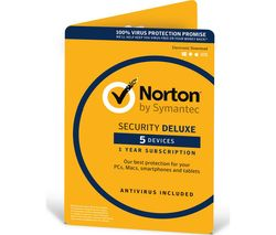 NORTON Security 2017 - 5 devices 1 year