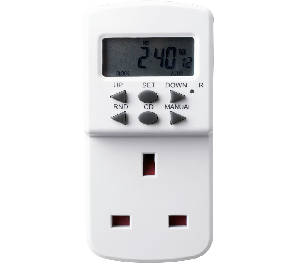 MASTERPLUG TES7 7 Day Electronic Plug Timer