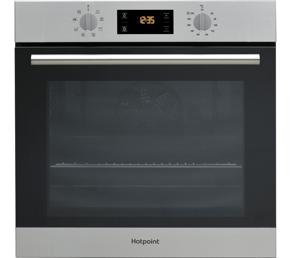 HOTPOINT  Class 2 SA2540HIX Electric Oven  Stainless Steel Stainless Steel