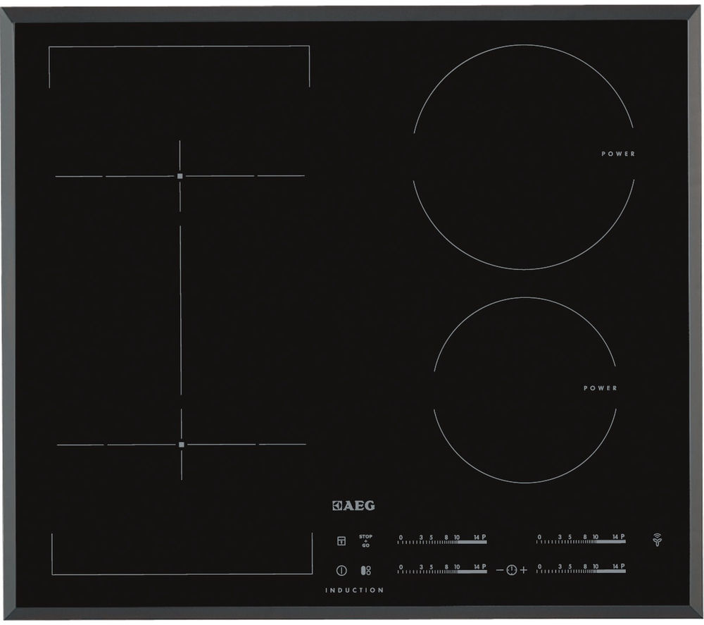 AEG  HKL65410FB Electric Induction Hob  Black Black
