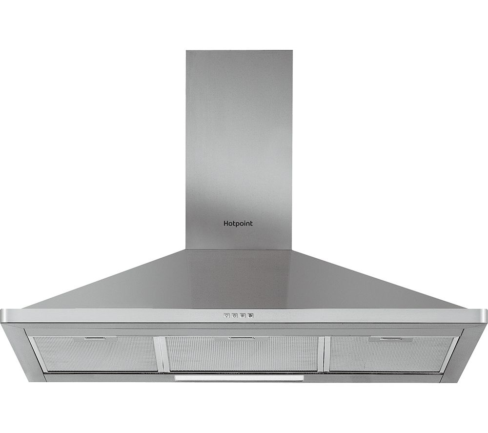 HOOVER  PHPN9.4FAMX Chimney Cooker Hood  Stainless Steel Stainless Steel
