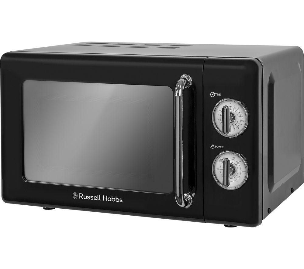 Image of RUSSELL HOBBS RHRETMM705B Solo Microwave - Black, Black