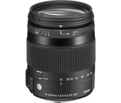 SIGMA 18-200 mm f/3.5-22 DC Standard Zoom Lens - for Sony