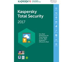 KASPERSKY Total Security 2017 (10 Devices for 1 Year)