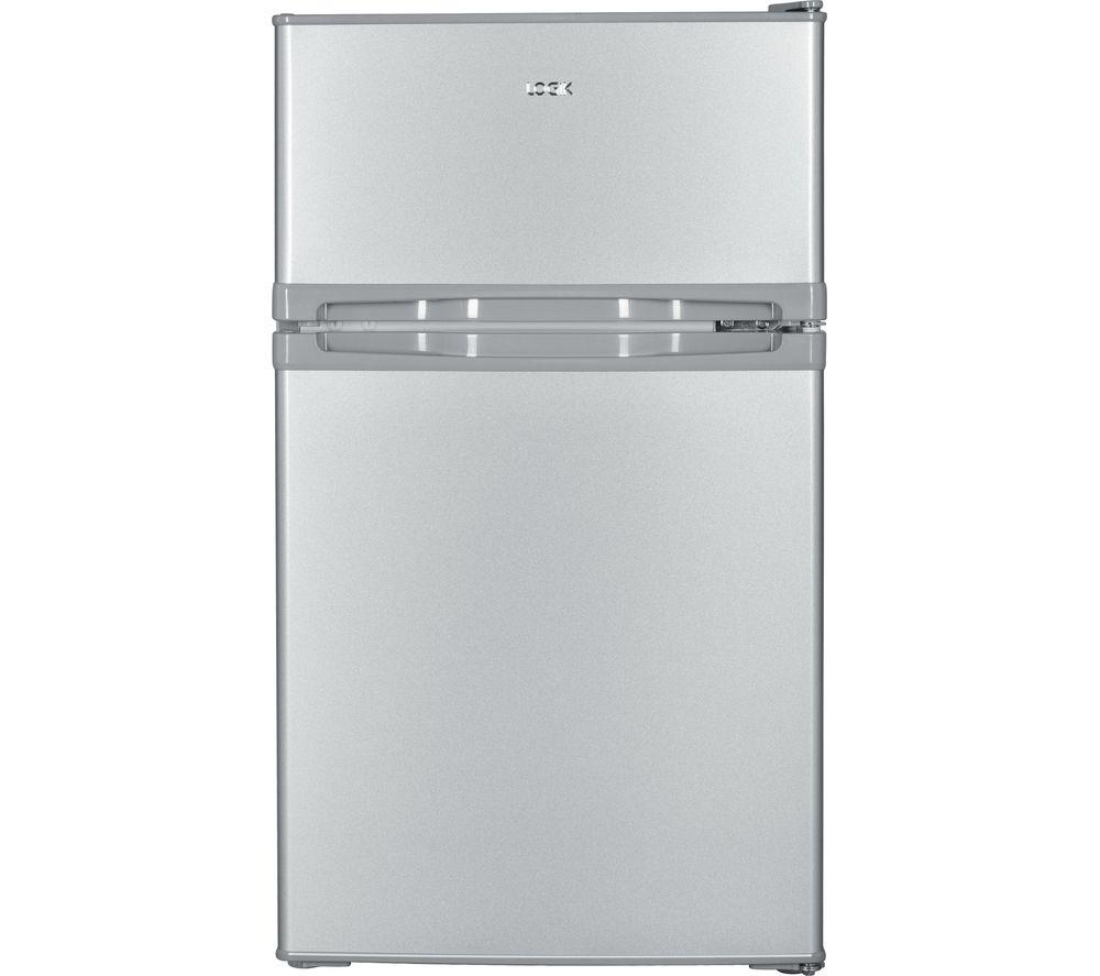 LOGIK LUC50S17 70/30 Undercounter Fridge Freezer - Silver