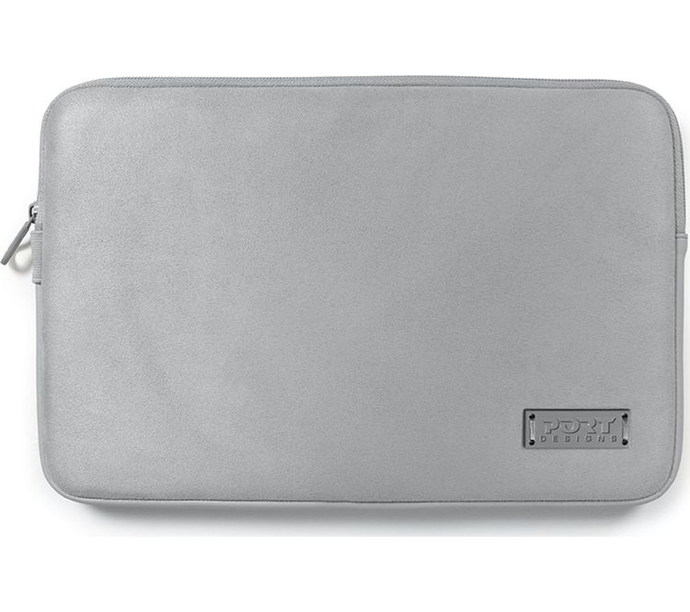"""PORT DESIGNS Milano 13"""" MacBook Sleeve - Silver"""
