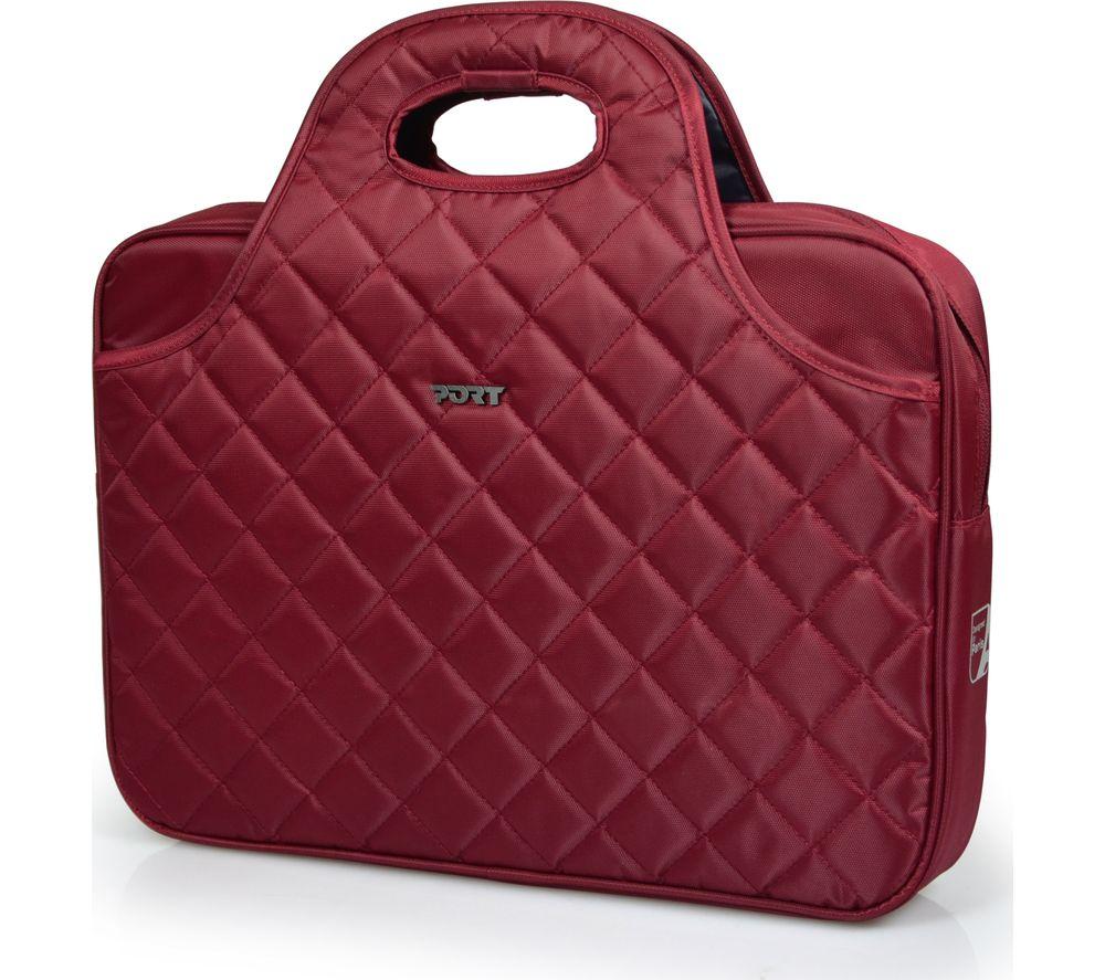 "PORT DESIGNS Firenze 15.6"" Laptop Bag - Red"