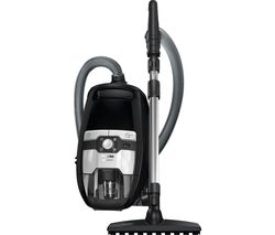 MIELE Blizzard CX1 Parquet PowerLine Cylinder Bagless Vacuum Cleaner - Black