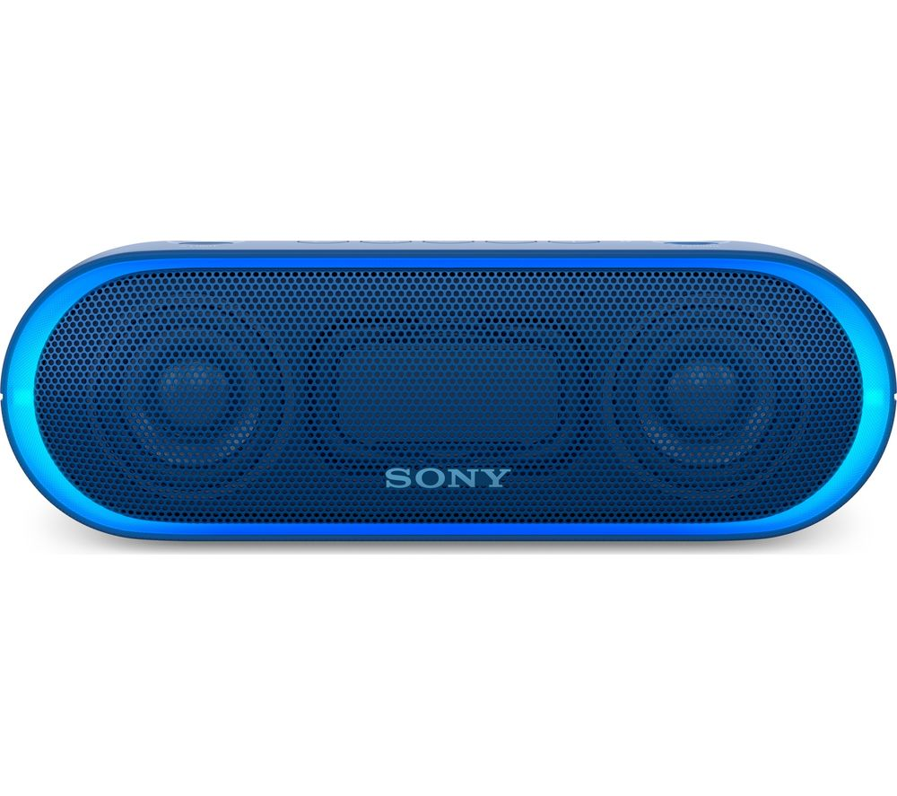 SONY SRS-XB20 Portable Bluetooth Wireless Speaker - Blue