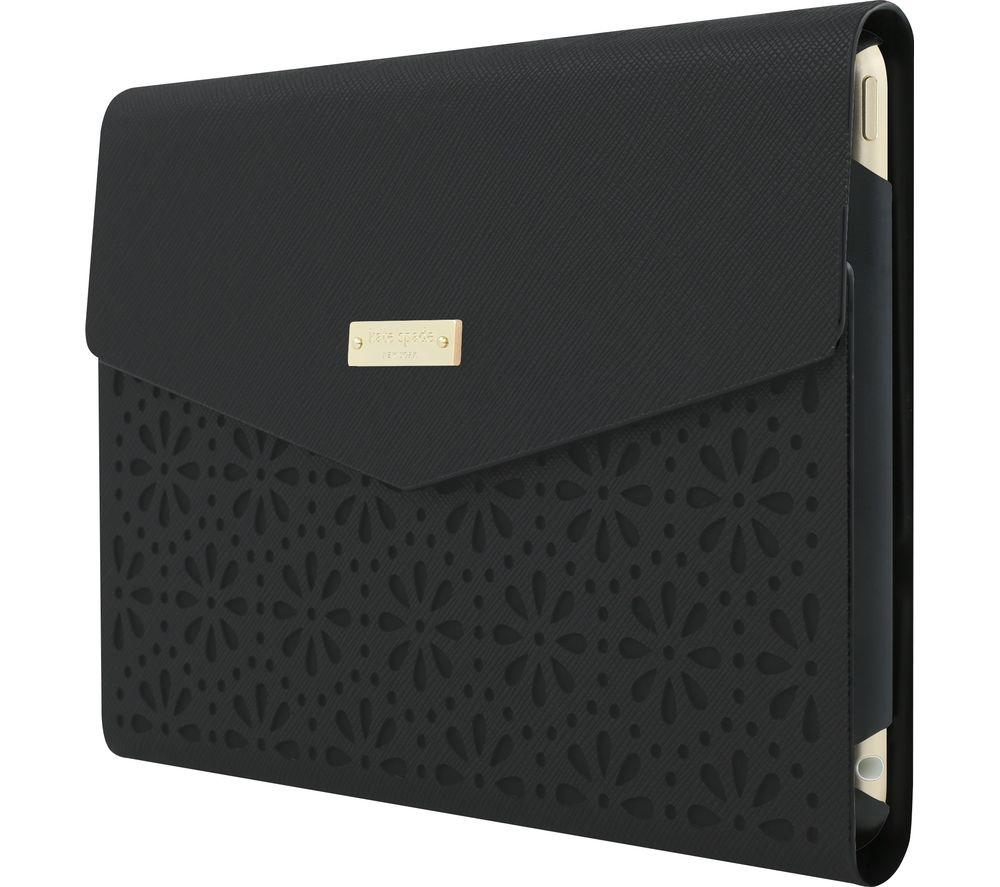 KATE SPADE New York Leather iPad mini 4 Envelope Folio Case - Black