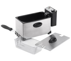 LOGIK L30PFS12 Professional Deep Fryer – Stainless steel