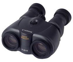 CANON 8 x 25 mm IS Binoculars - Black