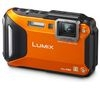 PANASONIC Lumix DMC-FT5 Tough Compact Digital Camera - Orange