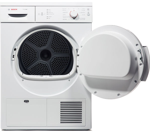 buy bosch classixx 7 wte84106gb tumble dryer white. Black Bedroom Furniture Sets. Home Design Ideas