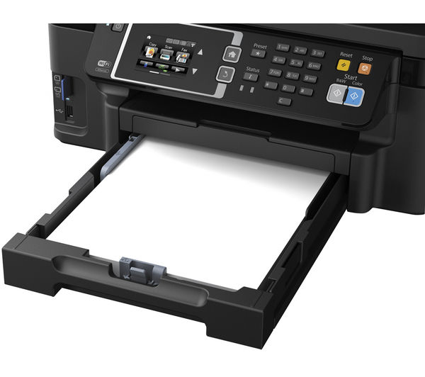 Image of EPSON WorkForce WF-3620DWF All-in-One Wireless Inkjet Printer with Fax