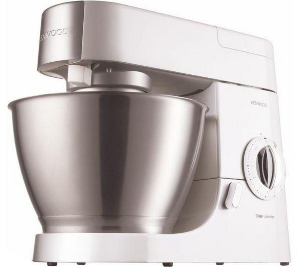 Kenwood KMC510 Premier Chef Kitchen Machine - White, White