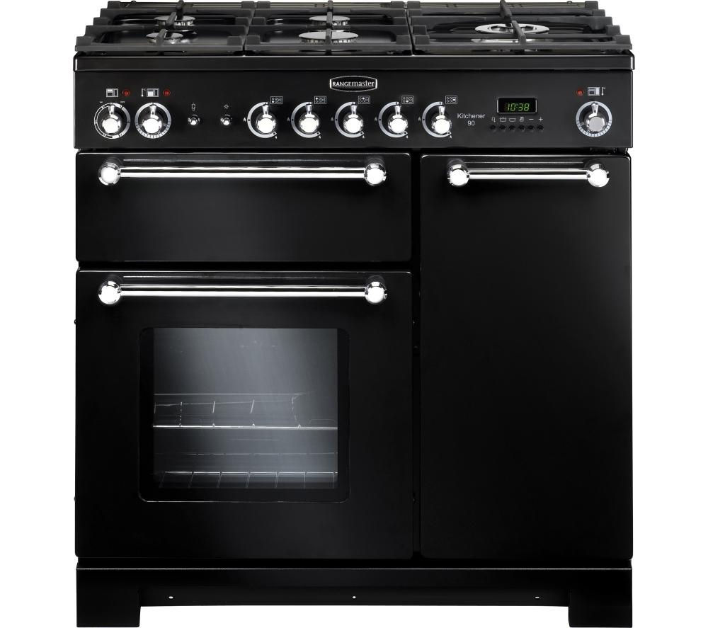 buy rangemaster kitchener 90 dual fuel range cooker. Black Bedroom Furniture Sets. Home Design Ideas