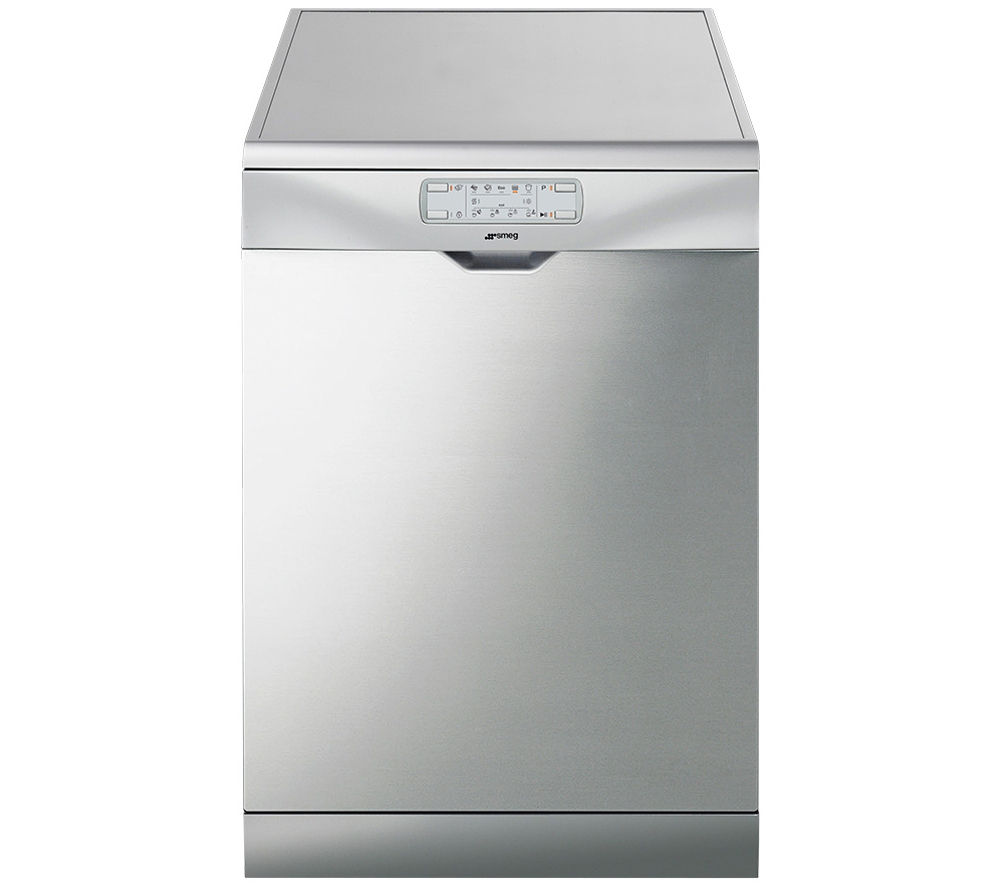 SMEG DFD6133X Full-size Dishwasher - Silver