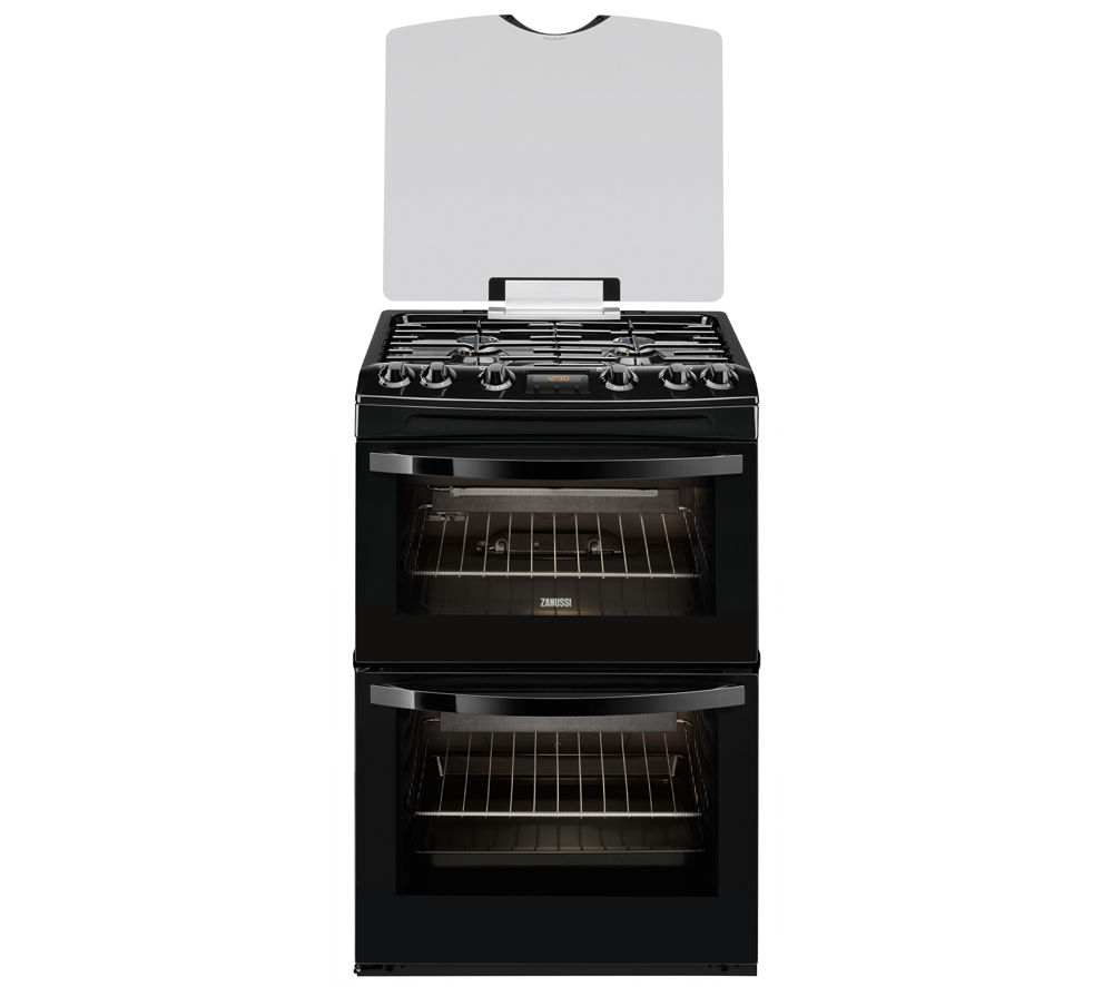 ZANUSSI ZCG63330BA Gas Cooker - Black