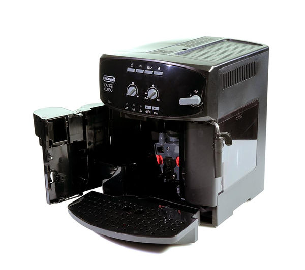 buy delonghi caff corso esam2600 bean to cup coffee machine black free delivery currys. Black Bedroom Furniture Sets. Home Design Ideas