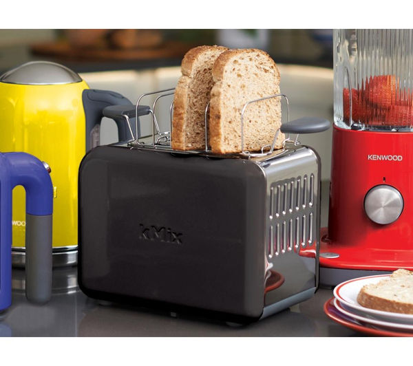 buy kenwood kmix ttm020bk 2 slice toaster black free delivery currys. Black Bedroom Furniture Sets. Home Design Ideas