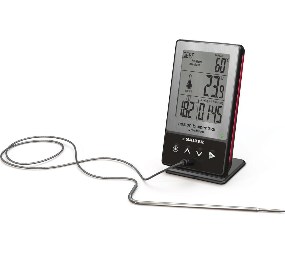 SALTER Heston Blumenthal 5-in-1 Digital Kitchen Thermometer