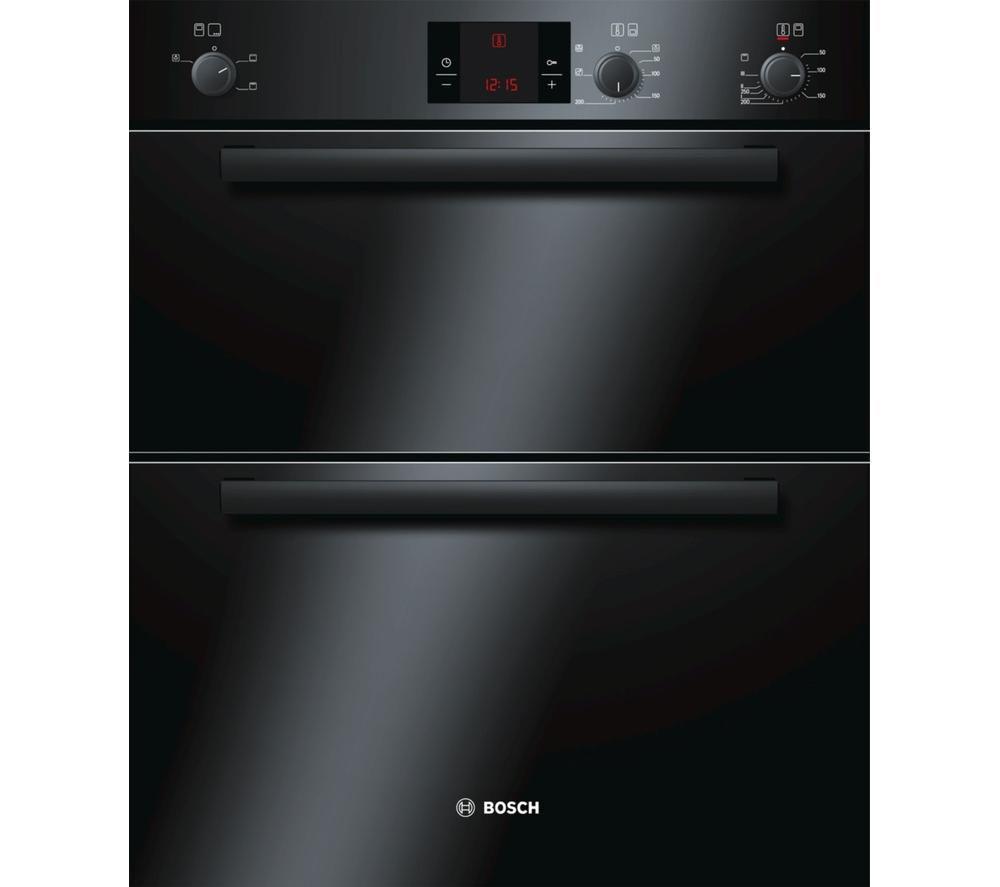 BOSCH HBN13B261B Electric Double Oven - Black