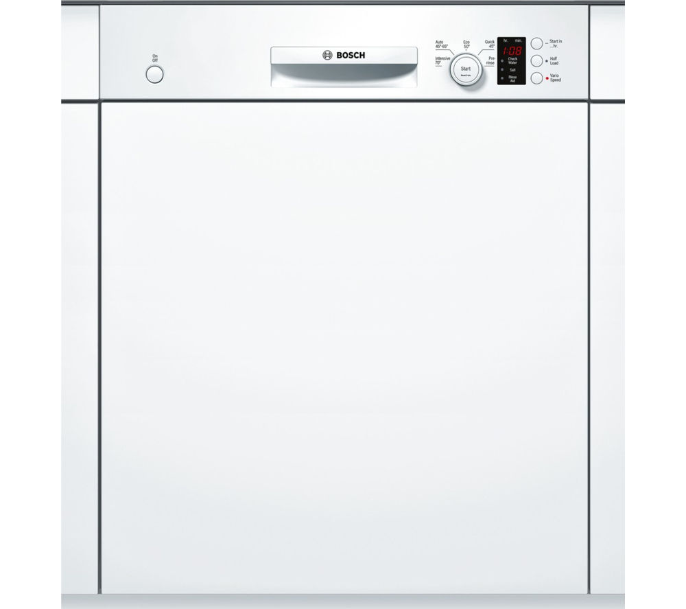 BOSCH  SMI50C12GB Fullsize SemiIntegrated Dishwasher