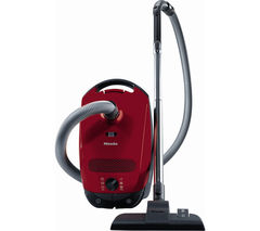 MIELE Classic C1 Junior PowerLine Cylinder Vacuum Cleaner - Red