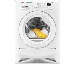 ZANUSSI ZDC8203WR Condenser Tumble Dryer - White