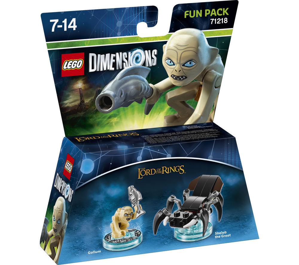 LEGO DIMENSIONS Lord of the Rings Gollum Fun Pack