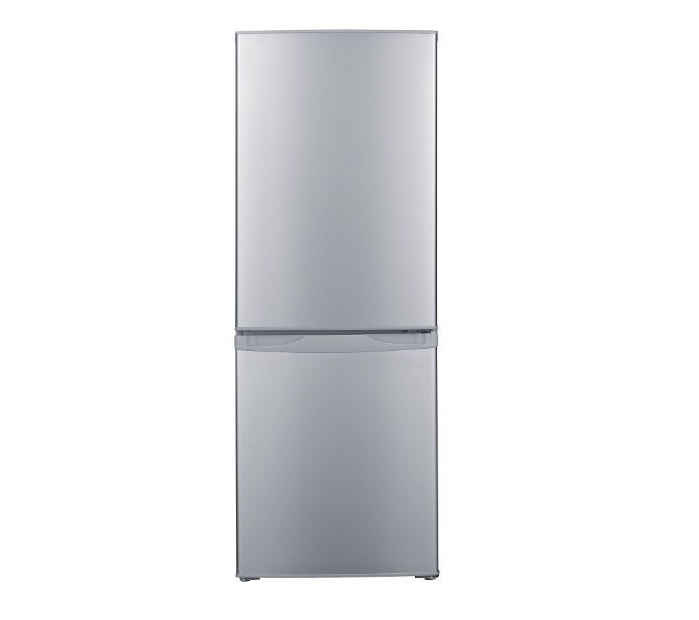 ESSENTIALS C55CS16 Fridge Freezer - Silver